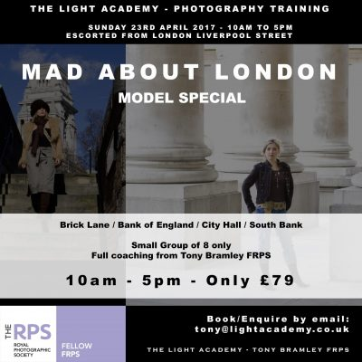 mas about london photography training