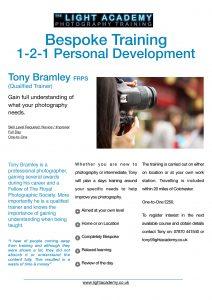 Bespoke Photography Training Essex