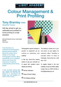 Colour-Management-&-Print-Profiling