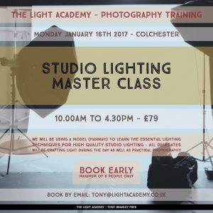 Studio Lighting Master Class