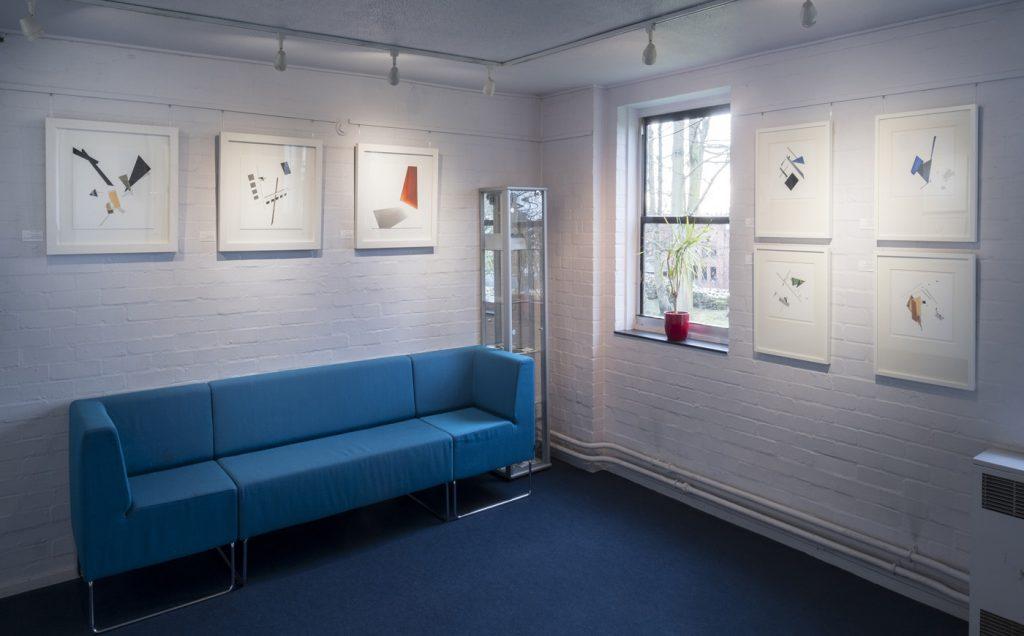 suprematism photography, art exhibition