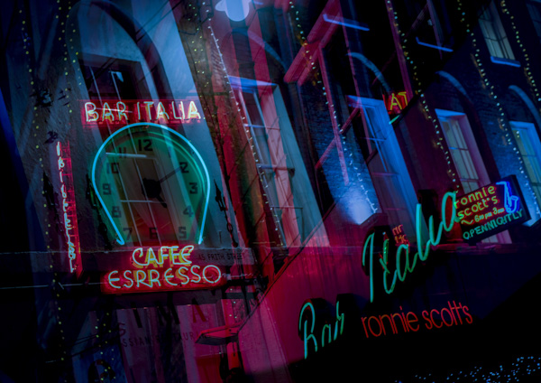 London Photography & London Street Photography Training Courses - Soho Neon Lights