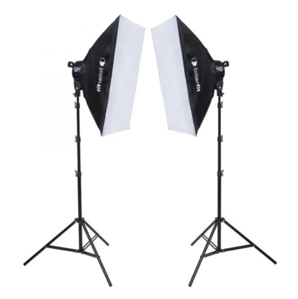 Interfit F5 Two-Head Fluorescent Lighting Kit