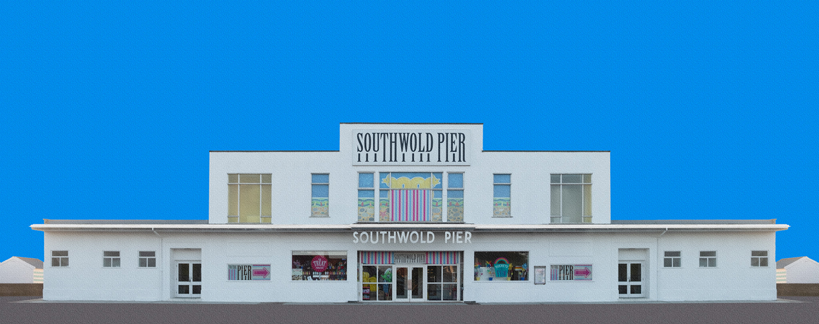 Southwold Pier, Digitally Restored
